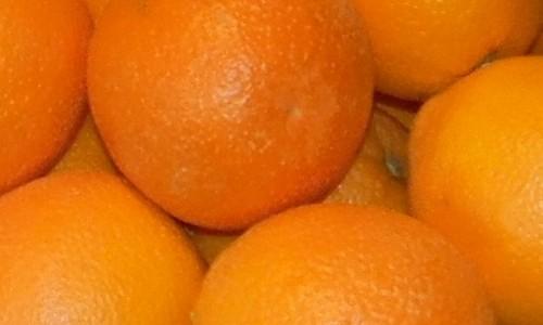 134 oranges table