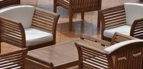 salon de jardin extrieur en teck - dtente et relaxation