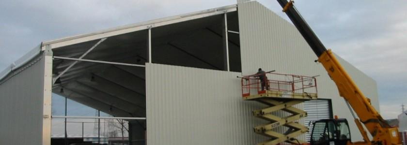 construction barnum de stockage essentiel dans le milieu industriel