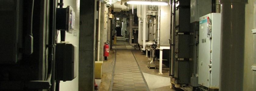 calorifugeage - tuyaux sous sols