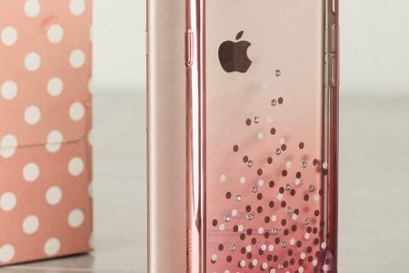 coque iPhone rose